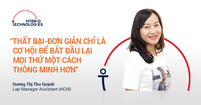 [2018] MAY 2018 - DUONG THI THU QUYNH - LAB MANAGER ASSISTANT