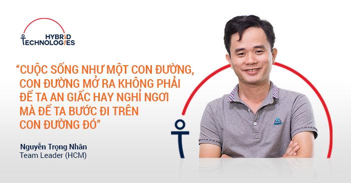 [2018] AUG 2018 - NGUYỄN TRỌNG NHÂN - TEAM LEADER