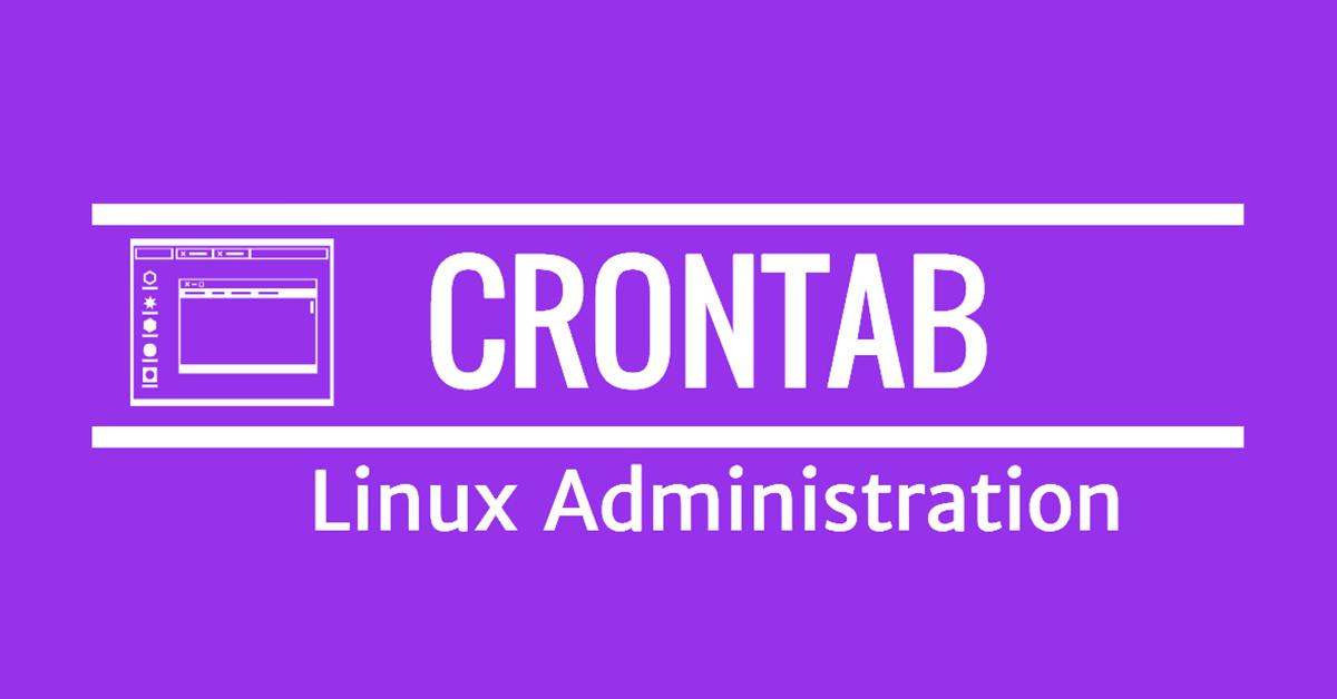 Làm việc với CRONTAB trên LINUX