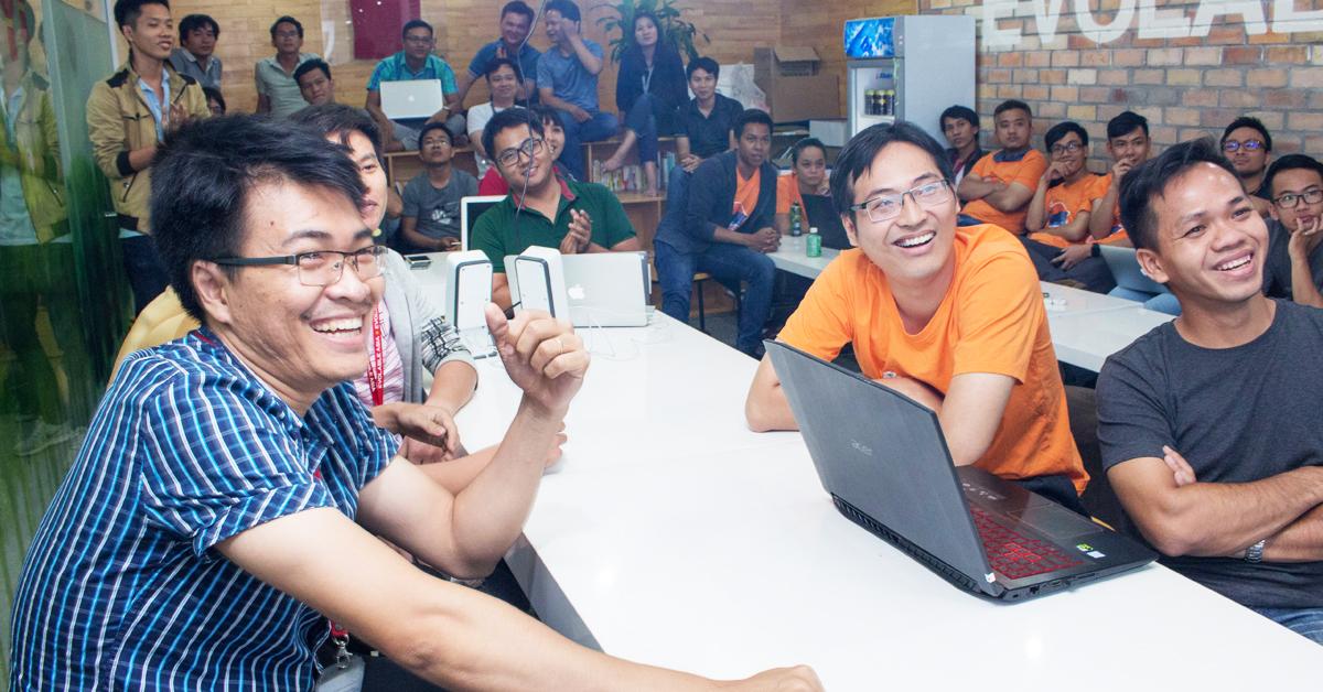 Sự kiện AI Hackathon 2018