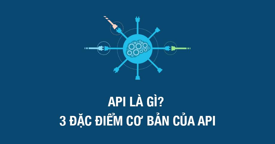API là gì? 3 đặc điểm cơ bản của API
