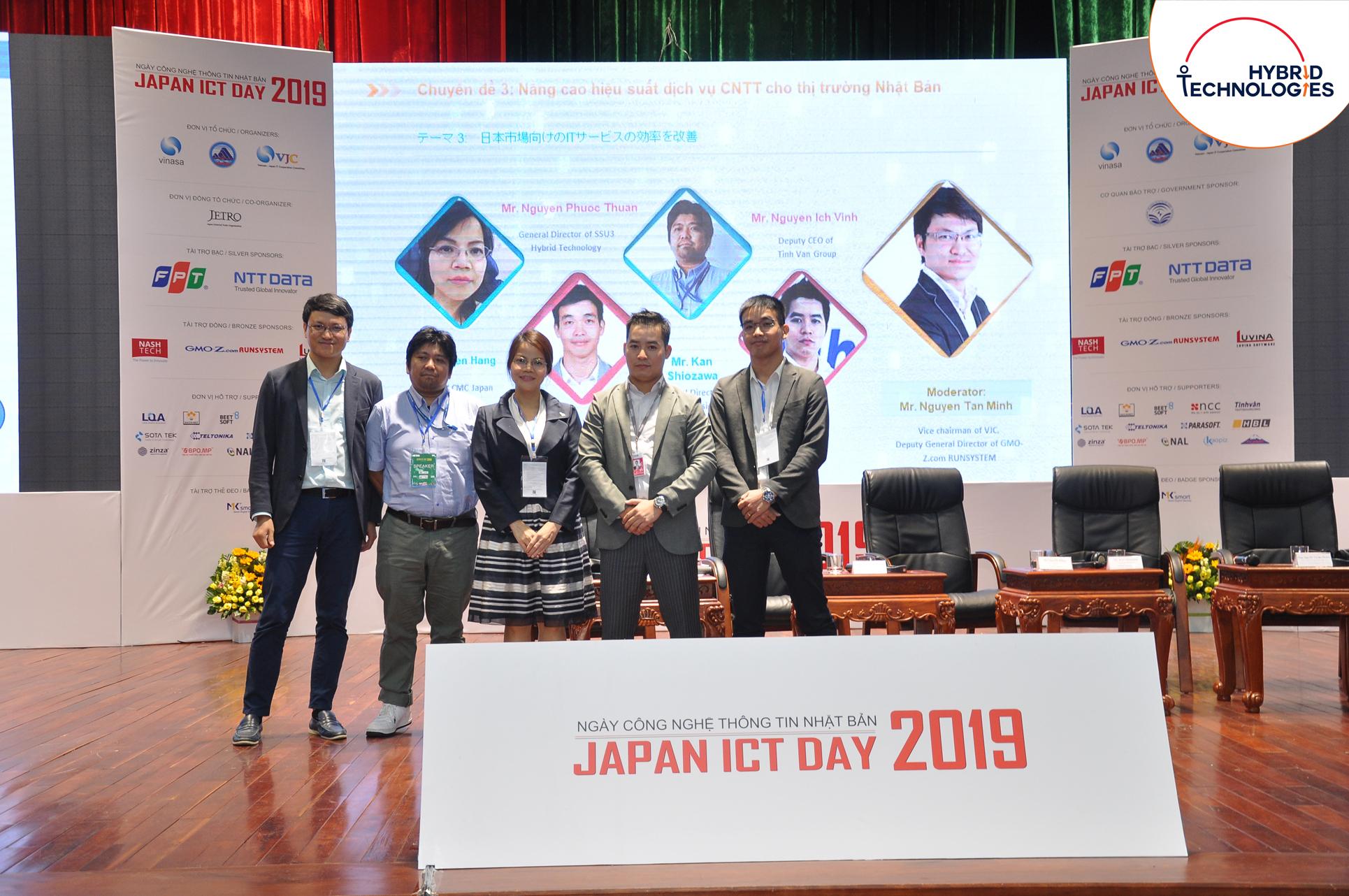 NHỮNG CHIA SẺ CỦA ANH NGUYỄN PHƯỚC THUẬN TẠI JAPAN ICT DAY 2019