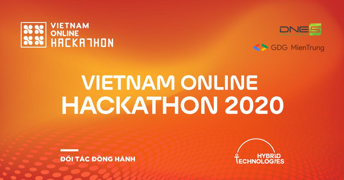 HYBRID TECHNOLOGIES LÀ ĐỐI TÁC ĐỒNG HÀNH CÙNG VIETNAM ONLINE HACKATHON 2020